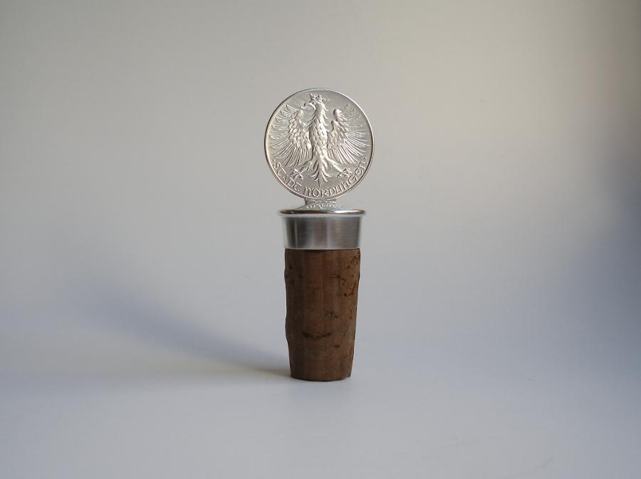 Flaschenkorken Silber, Kork