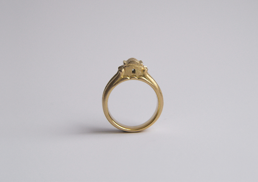 Ring 750/-Gold